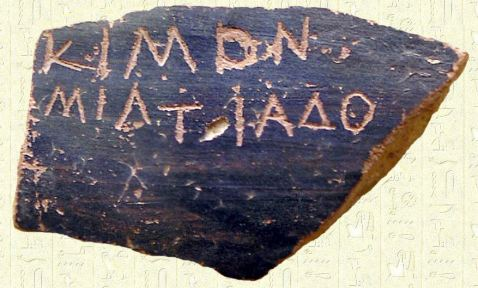 Ostracón Cimón