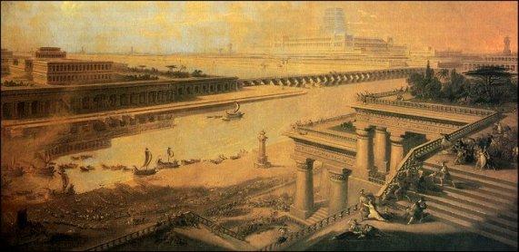 Babilonia durante la invasión persa. Fuente: (http://www.diomedes.com/hm_6.htm)